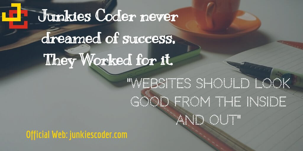 About Junkies Coder