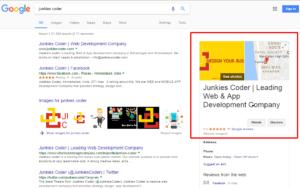Junkies Coder - Verified Google Business Page
